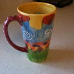 Painted Mug 6