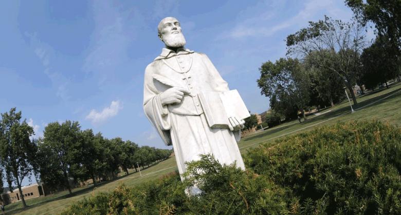 Statue of St. Francis DeSales