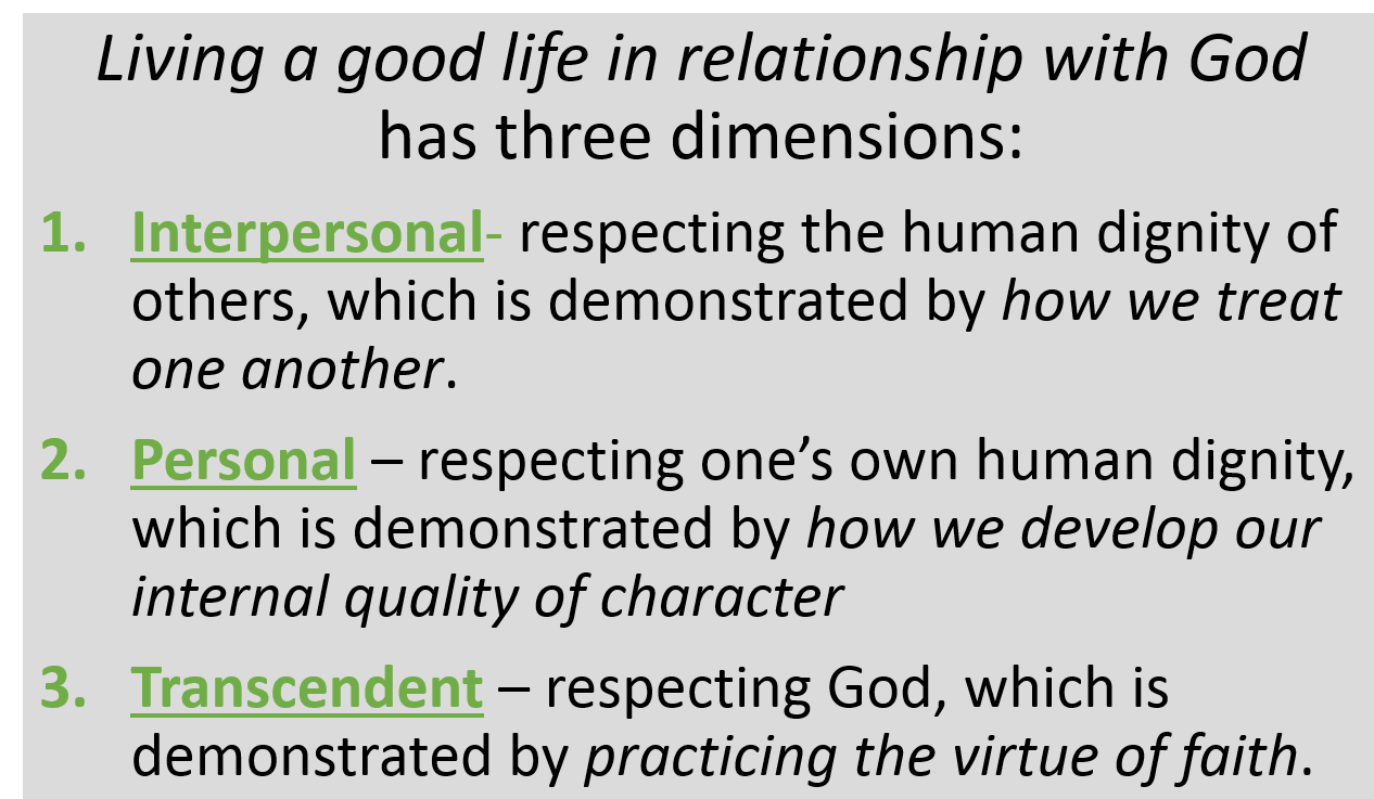 3 Dimensions of Morality