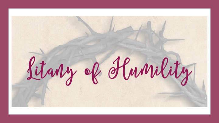 Litany of Humility Feature Image