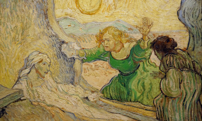 Raising of Lazarus Van Gogh via flickr