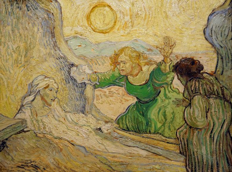 Raising of Lazarus Van Gogh via flickr