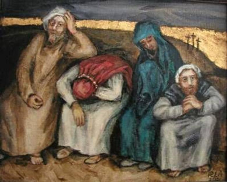 Holy Saturday Apostles
